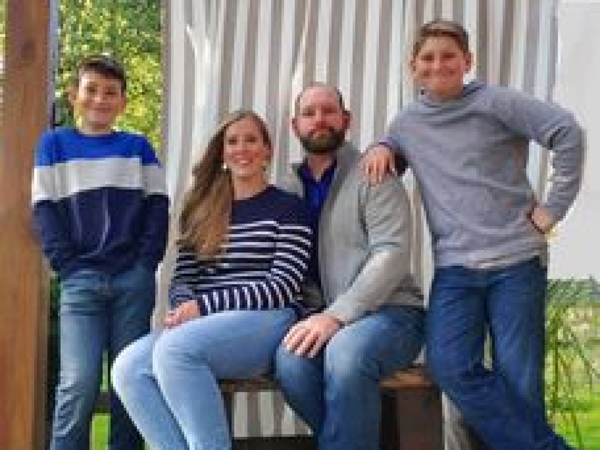 The Baum Family (Logan, Shannon, Chris, and Mason)