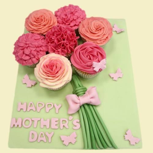 Mother's Day Cupcake Bouquet Class