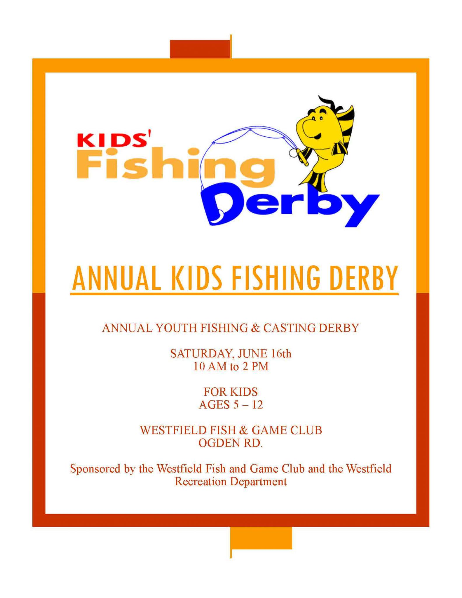 Annual Kids' Fishing & Casting Derby
