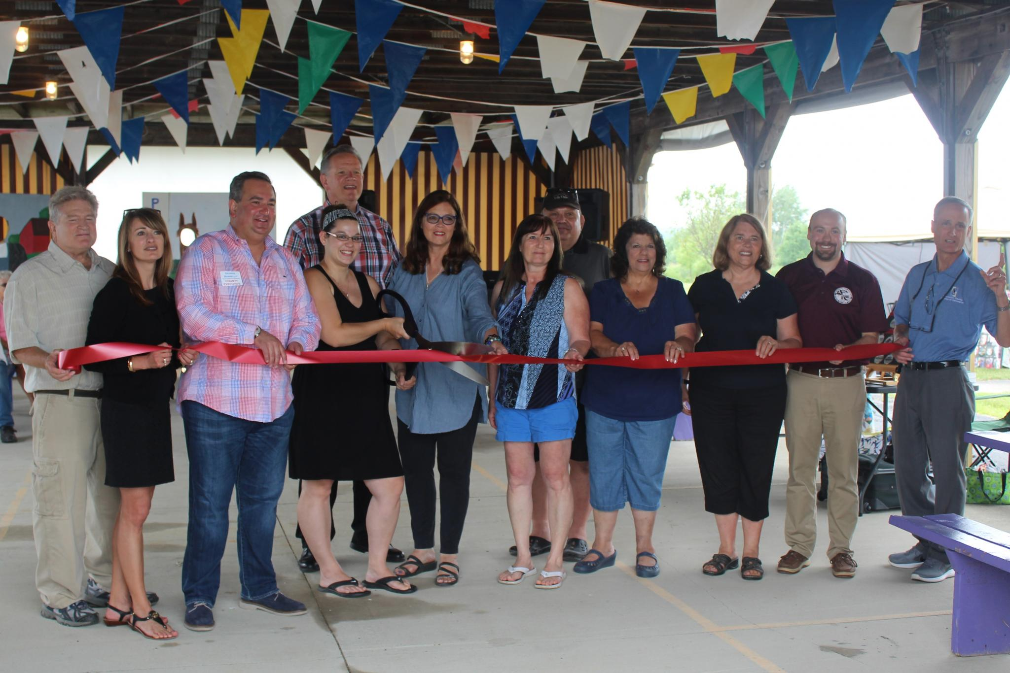 Cross Roads Farm & Craft Market Ribbon Cutting Ceremony