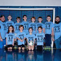 1st-3rd Grades' League Carolina Blue Team Coaches: Gavin Emery & Josh Freifeld Sponsor: Better Baked Foods