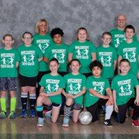 3rd-5th Grades' League Dark Green Team Coaches: Chad Heim & Andrea Schroen-Huyck Sponsor: Larry's Locksmith