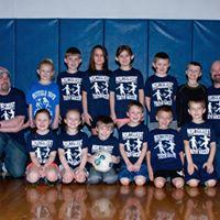 1st-3rd Grades' League Navy Blue Team Coaches: Matt Gambino & Chris Reese Sponsor: Southern Chautauqua Federal Credit Union