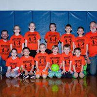 1st-3rd Grades' League Orange Team Coaches: Jeff & Jim Zarpentine Sponsor: C.J.'s Pizza & Subs