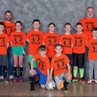 3rd-5th Grades' League Orange Team Coaches: Jeff & Jim Zarpentine Sponsor: Dr. Stephenson