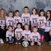 Pre-K/Kindergarten League Pink Team Coaches: Jamie Sacilowski & Kacie Hetrick Sponsor: Westfield Optical Studio