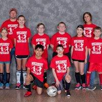 3rd-5th Grades' League Red Team Coaches: Kayla Hotchkiss & Jeff Luce Sponsor: ERA VP (Vacation Properties)
