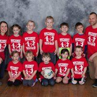 Pre-K/Kindergarten League Red Team Coaches: Mike & Elizabeth Kindermann Sponsor: Betts Insurance Agency