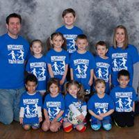 Pre-K/Kindergarten League Royal Blue Team Coaches: Mason & Shannon Baum, Mike Burnett