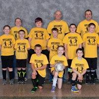 3rd-5th Grades' League Yellow Team Coaches:Chris Anderson, Jeff Beadle & Velvet Persons Sponsor: Main Diner