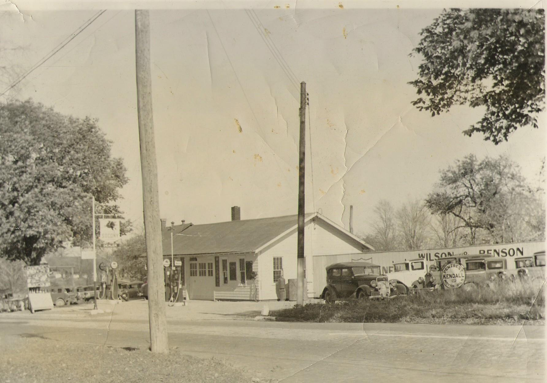Wilson Auto store from 1937, when it was called Wilson & Benson.