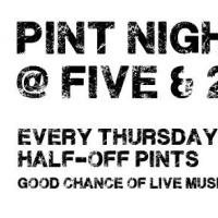 Pint Night @ Five & 20