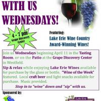 Wine with us Wednesday
