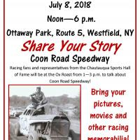 Coon Road Speedway Poster