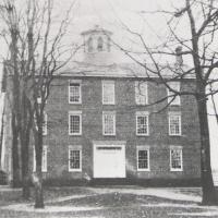 Westfield's Old Academy, built 1837, photo circa 1860s – courtesy of Patterson Library