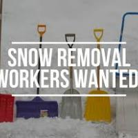 Snow Removal Workers Wanted!
